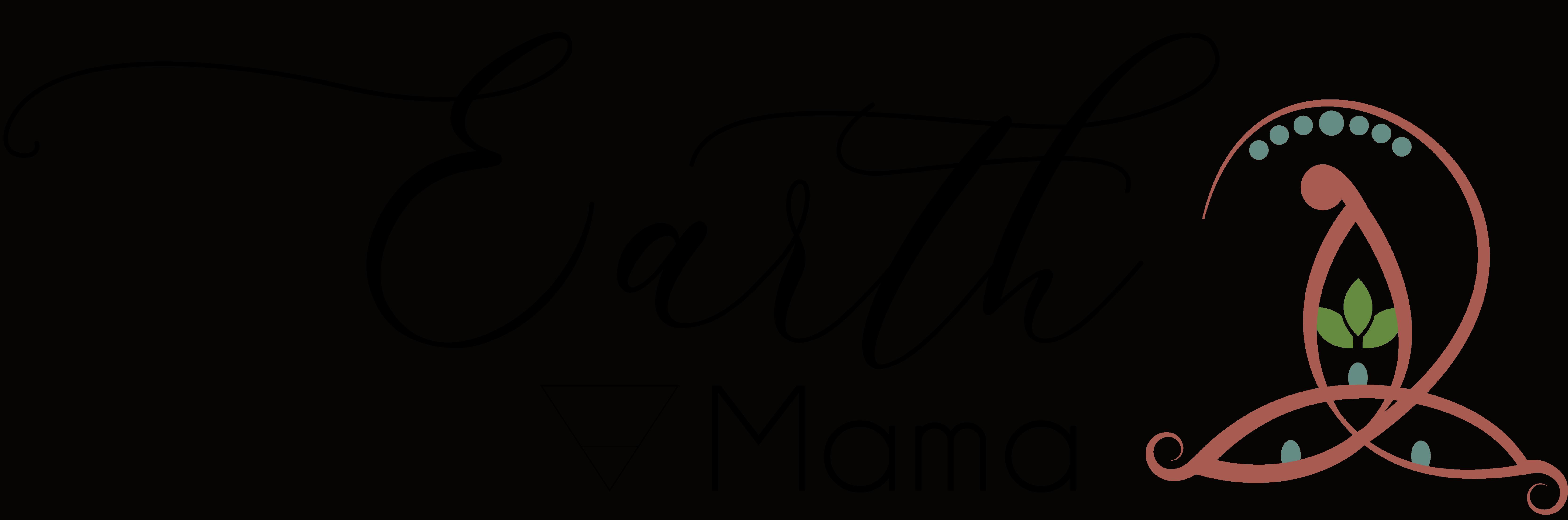 Earth logo en tekst